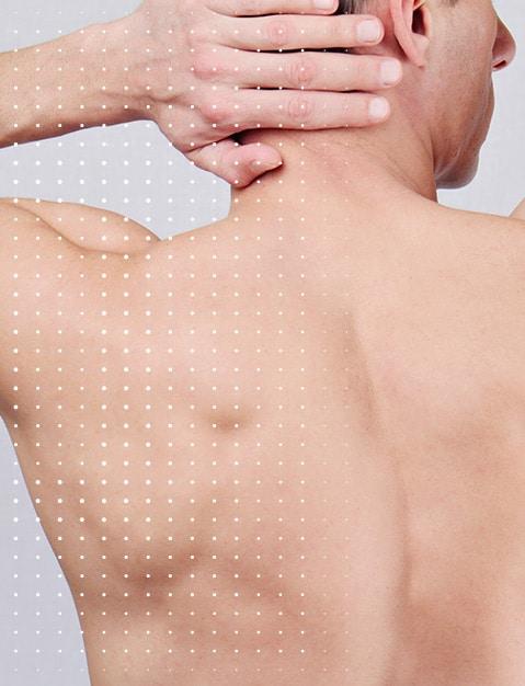 Haut & Rücken Behandlung - CLINIQUE DELC