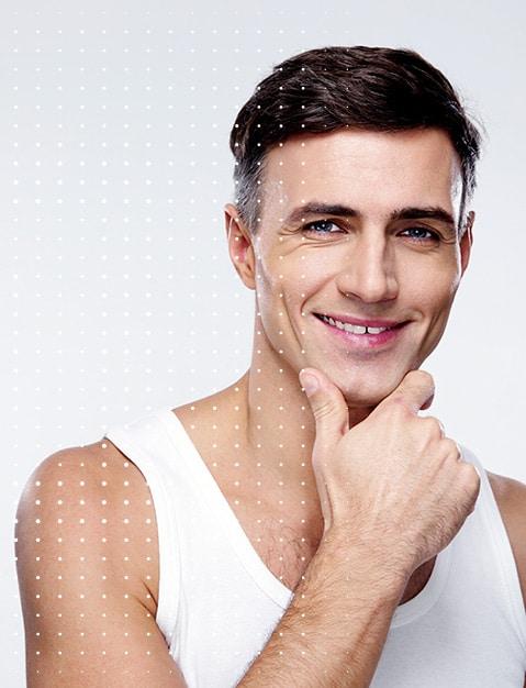 Glatte Haut und Haarentfernung